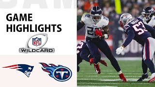 patriots vs titans highlights (NFL)