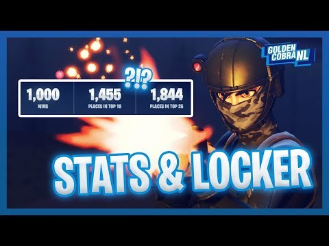 Mijn Wins en Locker/ Fortnite Battle royale Nederlands