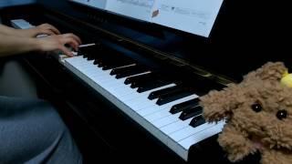 【Yuri on ICE 】離れずにそばにいてをピアノで弾いてみた