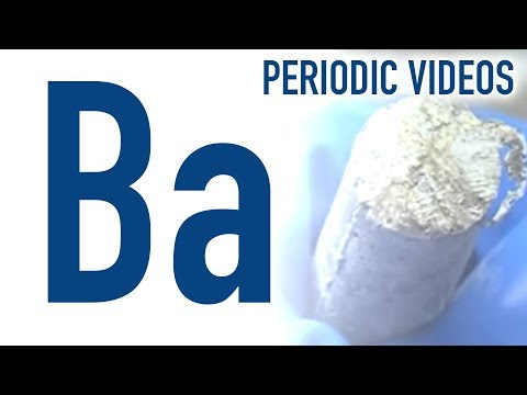 Video image: Barium - Periodic Table of Videos