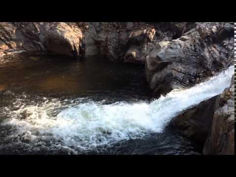 Video background waterfall