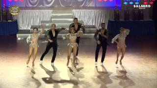 The New York Movement, USA, Small Team Salsa Cabaret, Final, 1st Place, WSS 2017