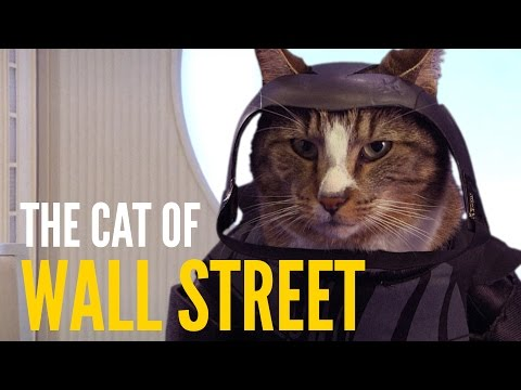 Cats in Famous Movie Scenes