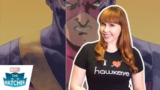 All New Hawkeye with Jeff Lemire - The Watcher 2015