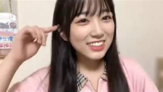 프로듀스48에 출연하는 야부키 나코(矢吹 奈子)의 2018년 8월 13일자 쇼...