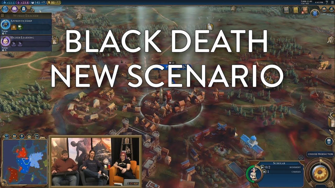Civilization VI: Gathering Storm - Black Death Scenario (Pre-Launch  Livestream VOD)