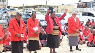 Tonga Parliament Prayer & Petition - Tonga College Old Boys