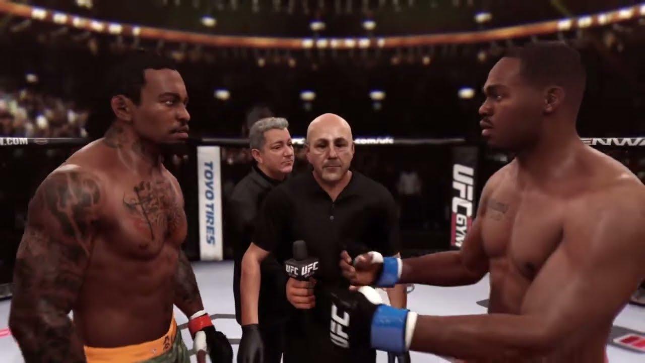 EA SPORTS UFC - Fastest Career Knockout Ever (JON JONES ...