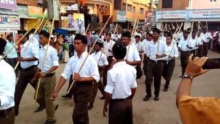 RSS Path sanchalan 2016 Ilkal karnataka