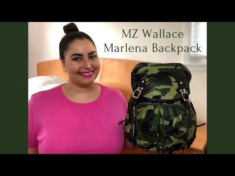 MZ Wallace Marlena Backpack - Review, What's In My Bag WIMB / What Fits Inside, and Mod Shots