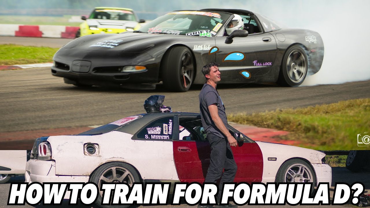 How to train for Formula D? Where to practice drifting and get unlimited seat time?