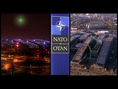AMAZING TIMELAPSE: Construction Of NATO Headquarters In Brussels From 2012-2017 (HD).