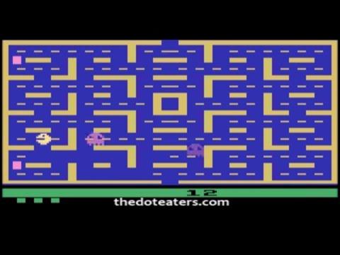 Pac-Man - Atari 2600 - Worst Console Games Ever (Atari 1982)