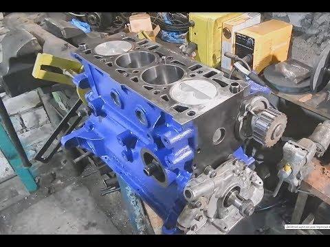 #2. ЗАЗ Таврия. Капитальный ремонт двигателя. Сборка.
