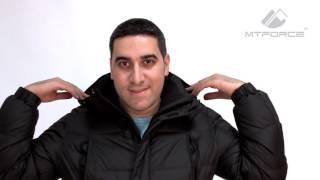 Куртка пуховик мужская черного, горчичного, синего цвета 9872