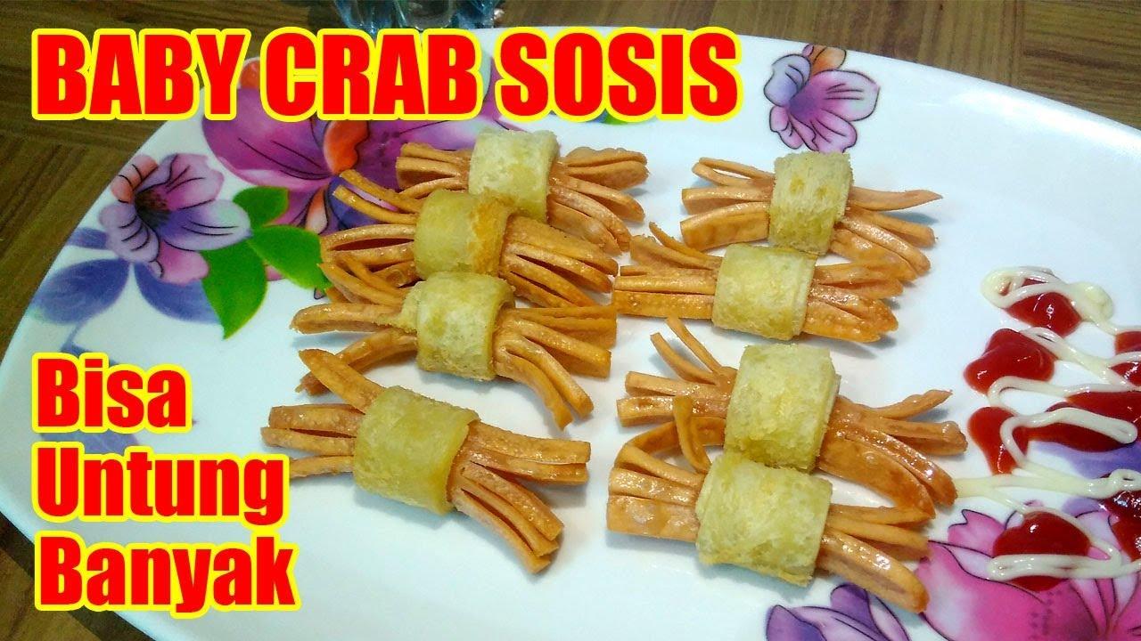 Jajanan Anak Yang Lagi Viral Baby Crab Sosis Bisa Untung Banyak