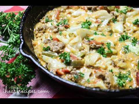 Cheesy Cabbage Creole - Easy Dinner Recipes - I Heart Recipes