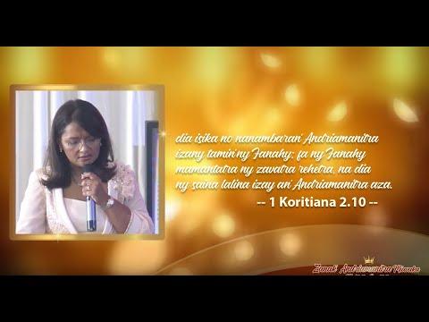 Toriteny Pst Voahirana partie2 - Mois d' Octobre - Zanak' Andriamanitra Miavaka (2)