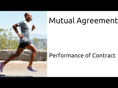 What Is Mutual Agreement | Performance of Contract | Indian Contract | CA CPT | CS & CMA Foundation