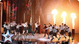 Dance troupe Entity Allstars are magic! | Semi-Final 1 | Britain