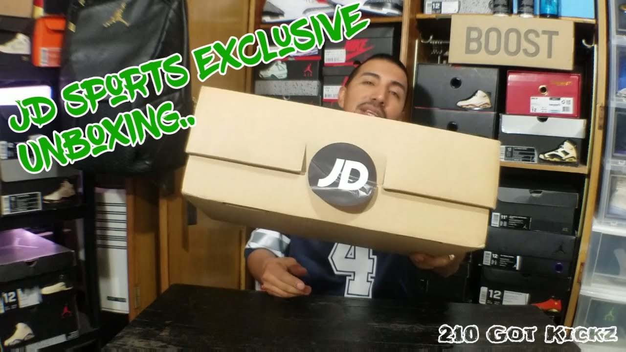 best sneakers 1c679 5ce85 JD SPORTS EXCLUSIVE UNBOXING.. HAD TO SEE THESE IN PERSON.