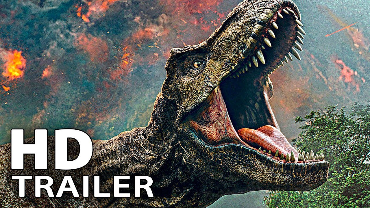 JURASSIC WORLD 2 ALL Trailers & Clips (2018)