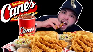 RAISING CANES MUKBANG | I ASKED ANOTHER GIRL TO BE MY VALENTINE..