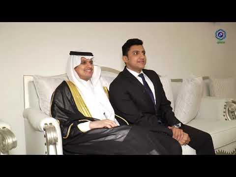 حفل زواج الشابين عبدالعزيز بن فهد  و عبدالرحمن بن صالح الحربي