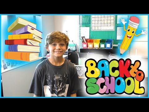 TYLER HAS BACK TO SCHOOL ORIENTATION FOR 5TH GRADE | We Are The Davises
