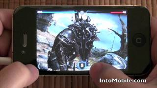 Infinity Blade for iPhone & iPad Gameplay Video
