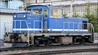 20190416 〔秩父鉄道〕室蘭から来た機関車DD512の入換作業