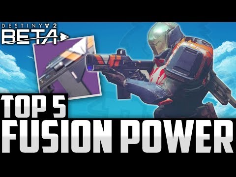 Insane Fusion / Power Plays! Top 5 Destiny 2 Beta Plays Of The Week / Episode 7