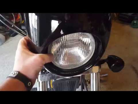Fitting The Harley Davidson Fairing On A Honda Shadow