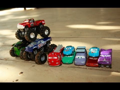 Monster Jam Monster Truck Toys Hot Wheels Toys Rev Tredz Disney