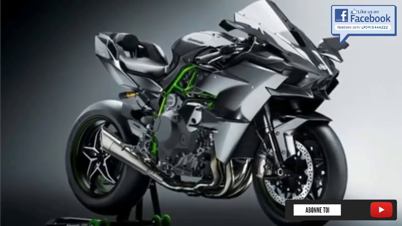 2018 Le Nouveau Design De La Kawasaki H2 Trailer Youtube