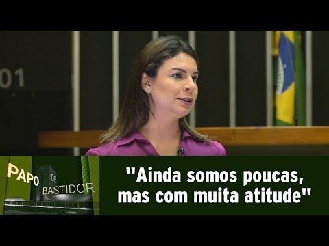 Mariana Carvalho fala sobre ser mulher na vida política de Brasília | Papo de Bastidor