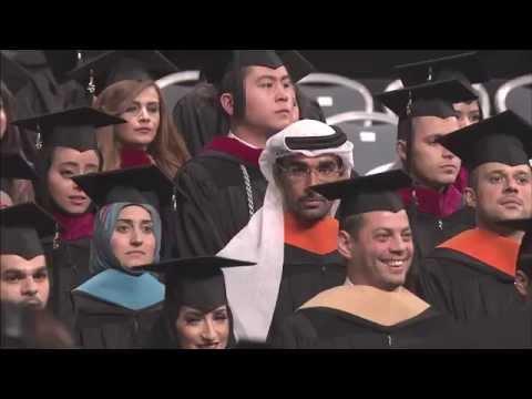 American University in Dubai Graduation Ceremony 2015 (AUD)