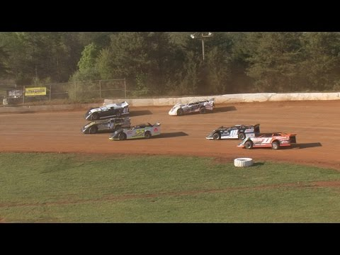 Sportsman Late Models / 20 Lap Feature / 411 Motor Speedway / April 9 , 2016