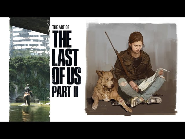 L'artbook de THE LAST OF US II