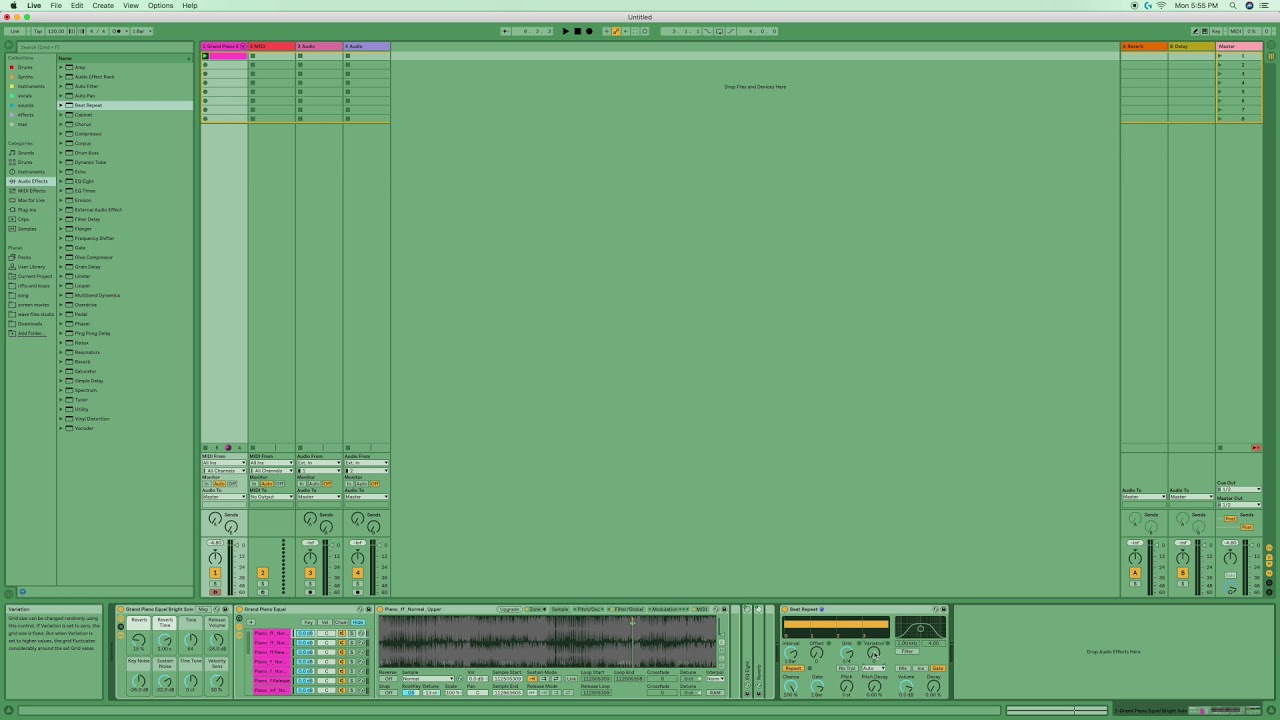 hight resolution of ableton live 10 beat repeat explained