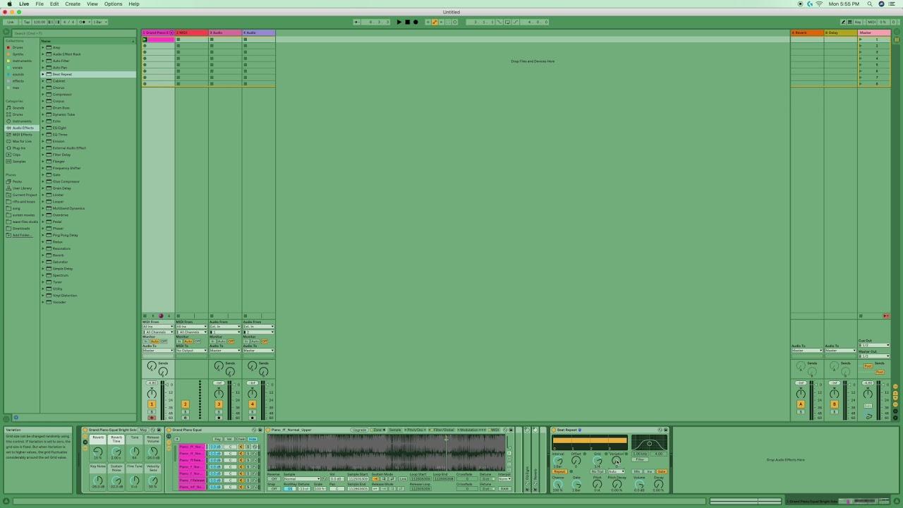 ableton live 10 beat repeat explained [ 1280 x 720 Pixel ]