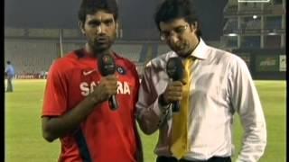 Munaf Patel & Vasim Akram had talk after India wining semi-final with Pakistan