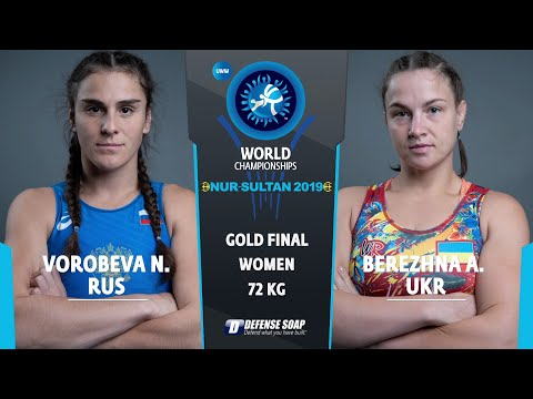 GOLD WW - 72 Kg: N. VOROBEVA (RUS) V. A. BEREZHNA STA (UKR)