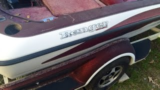 How to Boat restoration Ranger boat restoration gelcoat restoration and repair