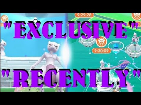 """MEWTWO """" RECENTLY """" FINALLY EXPLAINED + HOW TO PREPARE FOR EXCLUSIVE RAIDS"""