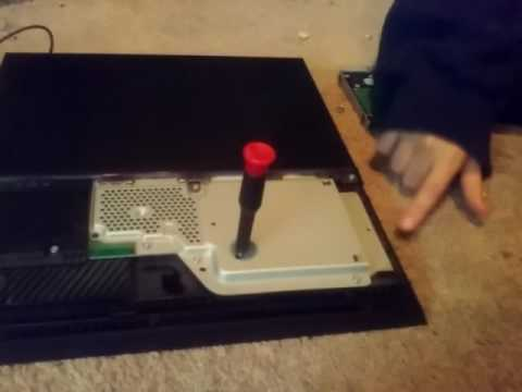 How to get a stuck disk out of a ps4