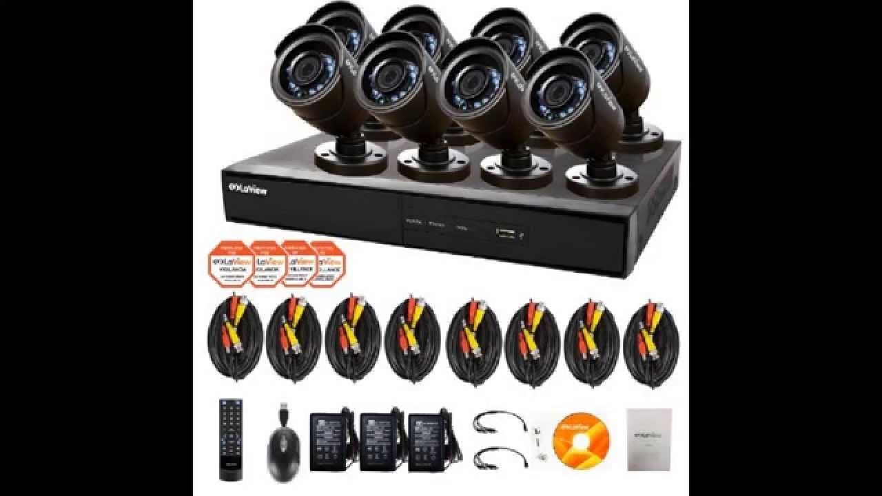 5 Best Rated Security Camera Systems 2014 Reviews Zmodo, Q-See, Laview,  CameraSecurityReviews.com - YouTube