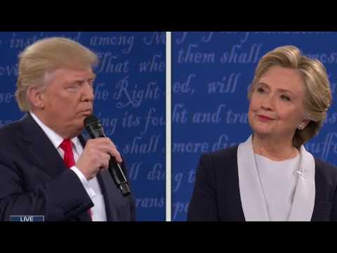 Every Donald Trump Sniff At The 2nd Debate (original)