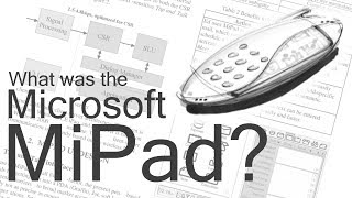 What was the Microsoft MiPad?