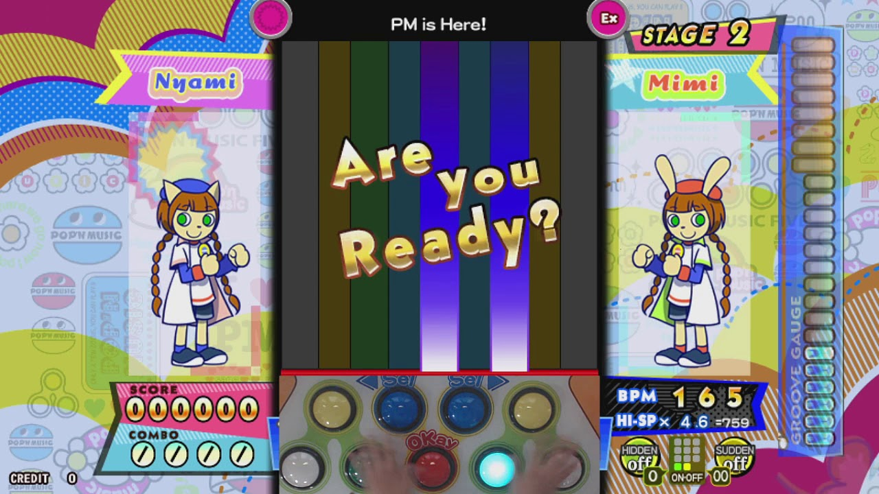 [pop'n music peace] PM is Here! (EX)